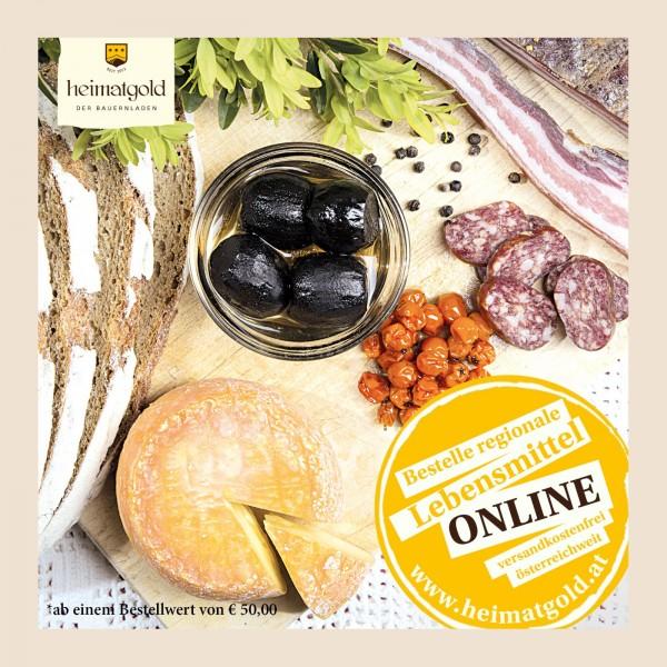 Regionale Produkte bei Heimatgold auch online bestellbar