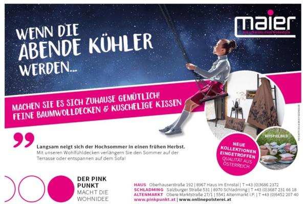 FEINE BAUMWOLLDECKEN bei MAIER GmbH Schladming